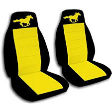 creative ford mustang seat covers pony
