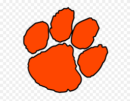 Clemson Paw Print Vector Large Printables Templates More Gamecock Clipart Stunning Free Transparent Png Clipart Images Free Download