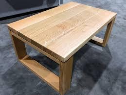 oak coffee table handmade in the uk