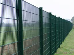 358 Mesh Panels With Razor Wire Fencing Suitable For Electric Alarm And Detection System