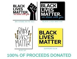 Black Lives Matter Vinyl Decal 10