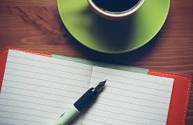 blank book business coffee coffee