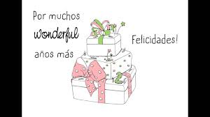 Mr Wonderful Feliz Cumpleanos Youtube