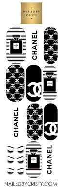 Decals Chanel Nailedbycristy