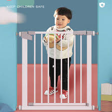 Child Safety Gate Baby Stairs Entrance Guardrail Punch Free Child Protection Fence Pet Dog Isolation Gate Two Way Door Fence Gates Doorways Aliexpress