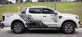 Ford Ranger Vinyl Graphic Decals Kit 001