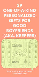 personalized gifts for good boyfriends