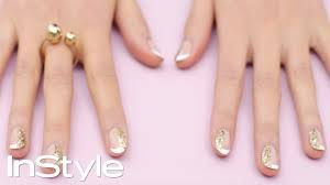 diy nail art know how glittering