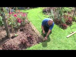 how to install log roll edging forest