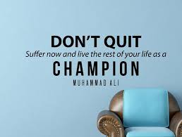 Muhammad Ali Quote Inspirational Motivational Wall Decal Home Decor D Wallvibes