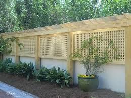 Trellis Privacy Fence Trellis Pressure Treated Pine Garden Trellis Privacy Fence Diy Backyard Patio Trellis Fence Backyard Fences