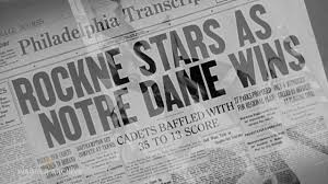 Knute Rockne: All American (1940) – Notre Dame Upsets Army - YouTube