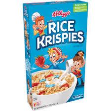 kellogg s rice krispies cereal