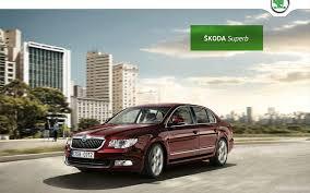 2016 skoda superb wallpaper hd car