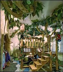 34 Great Concept Jungle Bedroom Design