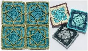 mosaic tiles free crochet patterns
