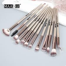 maange eye makeup brush set 12pcs