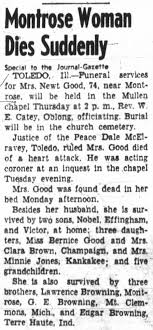 Obituary - Iva May (Browning) Good - Newspapers.com