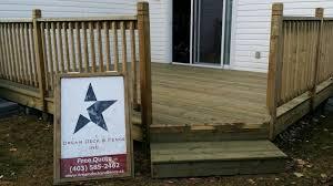 12 X 16 Pressure Treated Deck With 45 Degree Corner 3 Ft Hight Railing With 2x2 Pickets Deck Railings Deck Stair Railing Custom Deck Railing