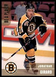 1999-00 In The Game Be A Player Jonathan Girard on Kronozio