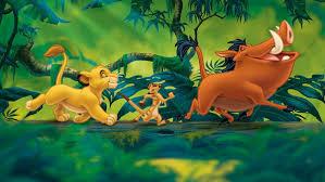 the lion king simba timon and pumbaa
