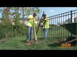 Aluminum Fence How To Install It Youtube