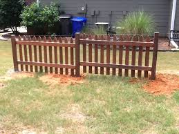 Building A Picket Fence On A Slope Diy