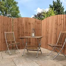 6 X 6 Pressure Treated Curved Feather Edge Fence Panel Waltons