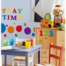 Colorful Primary Numbers 48 Wall Decals Kids Room Classroom Decor Stickers Walmart Com Walmart Com