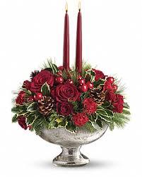 teleflora s mercury glass bowl bouquet