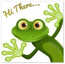 Hi There | Frog art, Frog, Clip art