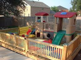 Image Result For Toddler Playground Fencing Backyard Kids Play Area Play Area Backyard Kids Play Area