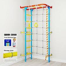 Carousel S4 Home Gym Swedish Wall Playground Set For Schools Kids Room Ebay