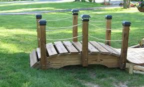 garden bridge design backyard bridges