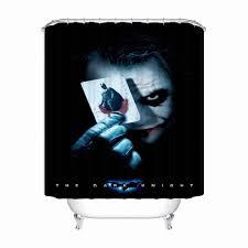 Tùy chỉnh Truyện Tranh Joker Màn Tắm Phòng Tắm Mildewproof Tắm ...