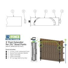 Shop Fence Brackets Wood To Metal Post Adapters More