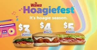 wawa brings back hoagiefest deal adds