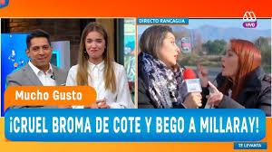 La Cruel Broma De Cote Y Begona A Millaray Mucho Gusto 2018