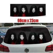 High Beam Reflective Creative Car Women Ghost Sticker Decal Wrap Rear Windshield Ebay