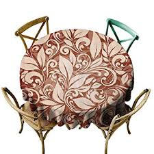indoor outdoor round tablecloth