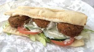 falafel sandwich from subway