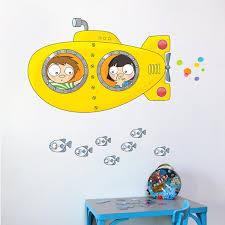 Adzif Ludo Submarine Wall Sticker Decal Wayfair