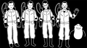 Ghostbusters Family Car Window Decal
