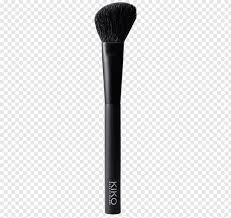 make up two black makeup brushes png