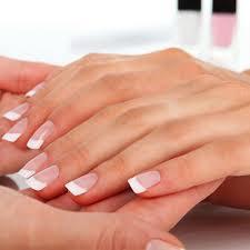 gel pink white dream nails