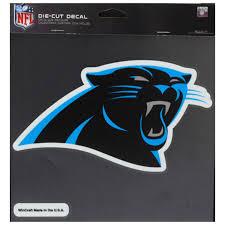 Carolina Panthers Wincraft 8 X 8 Color Car Decal