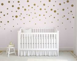 Gold Dot Wall Decals Etsy