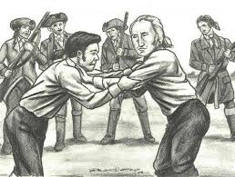 Image result for George Washington's Defense Against Bullies – Wrestling