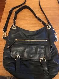 black leather flap cross bag