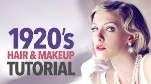 1920s makeup hair tutorial you